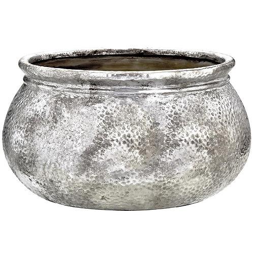 Centro De Mesa Prata Em Cerâmica