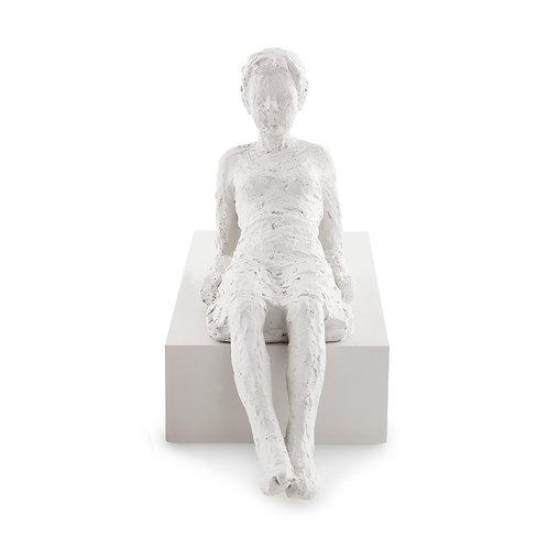 Escultura Pessoa Mulher Em Poliresina