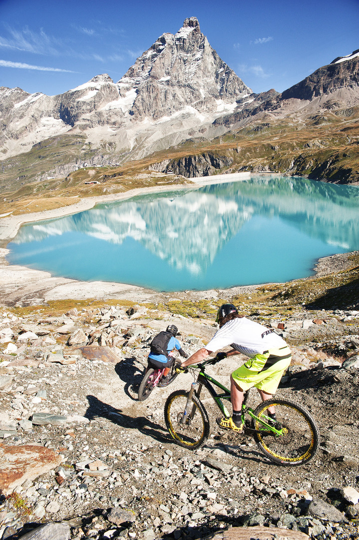 VALLE_D'AOSTA-Mountain_bike_à_Breuil-Cer