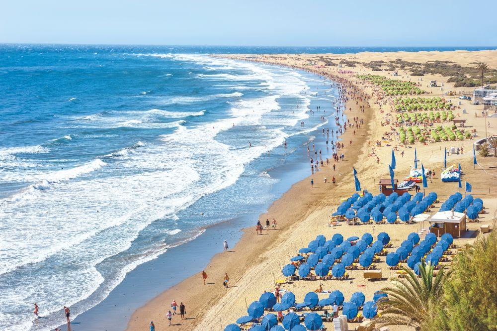 Plage de Gran Canaria - Strand van Gran Canaria