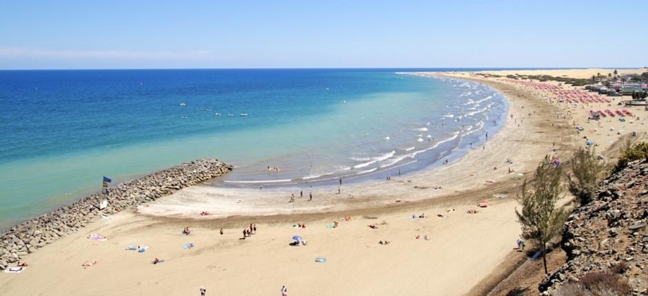 Plage Playa del Ingles à Gran Canaria - Playa del Ingles Strand op Gran Canaria