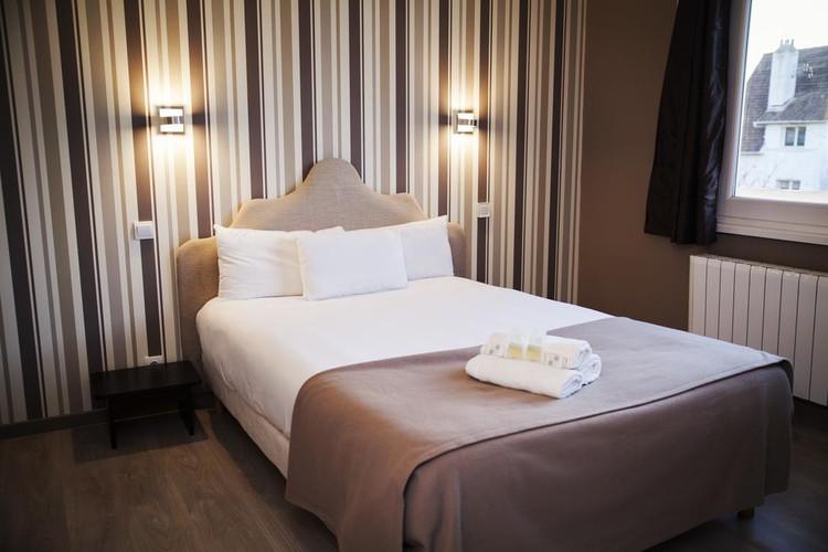 Chambre de l'hôtel Les Sables d'Or - Kamer van het hotel Les Sables d'Or