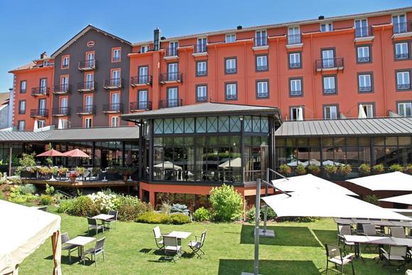 Extérieur du Grand Hôtel & Spa - De buitenkant van Grand Hôtel & Spa