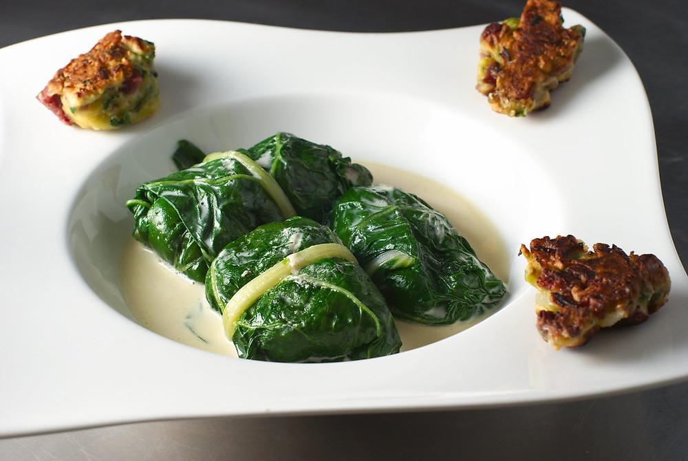 capuns, een culinaire specialiteit van de Grisons