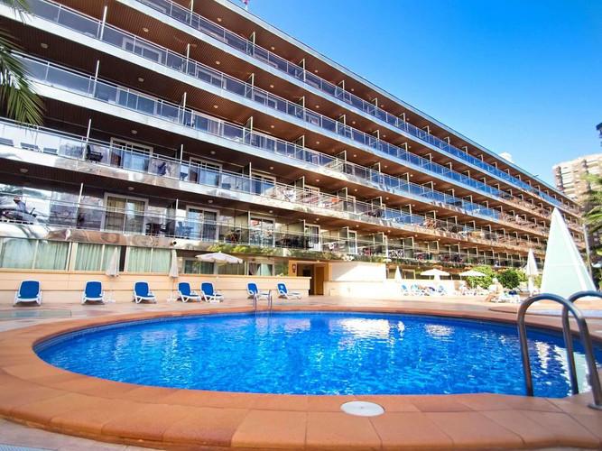Piscine de l'hôtel Diplomatic - Zwembad van het Hotel Diplomatic
