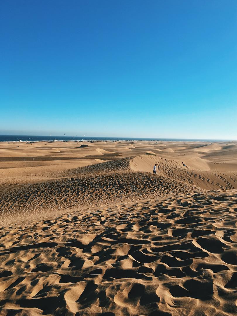 Dunes de Maspolamas - Duinen van Maspolamas