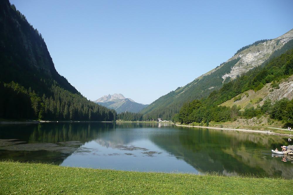 vallée d'aulps - lac de montriond