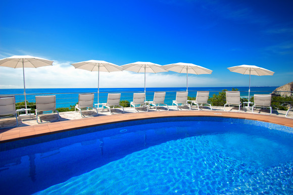 Piscine de l'hôtel Montiboli - Hotel Montiboli zwembad