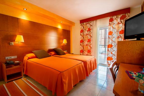 Chambre de l'hôtel Diplomatic - Kamer van het hotel Diplomatic