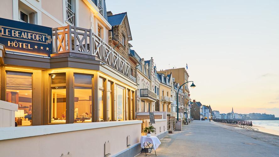 Hôtel le Beaufort jour - Hotel le Beaufort gedurende de  dag