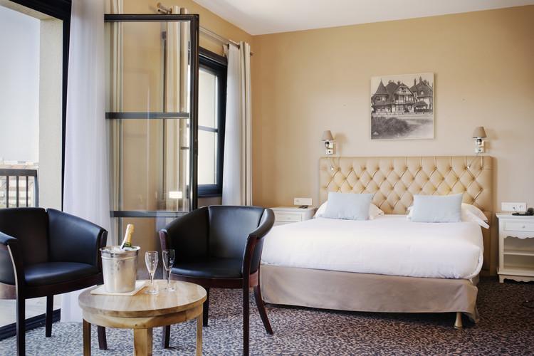 Chambre de l'hôtel Les Jardins d'Hardelot - Kamer van het hotel Les Jardins d'Hardelot