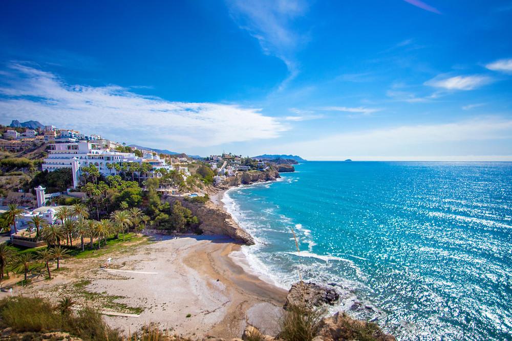 paradise beach on costa blanca