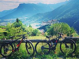 Ebike Garda Trentino Stenico Maso Azzurr