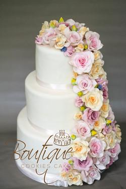 Buket with sugar flowers