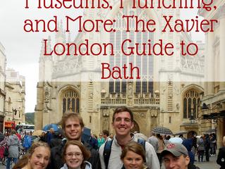 The Xavier London Guide to Bath, England