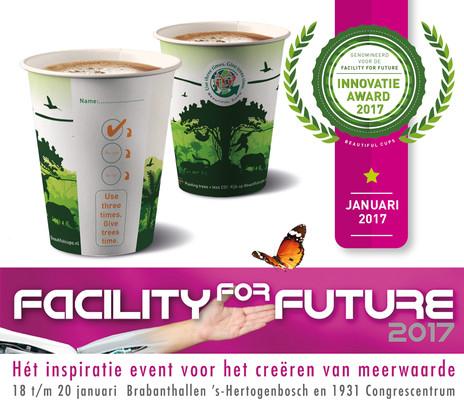 Beautiful Cups genomineerd voor innovatieprijs