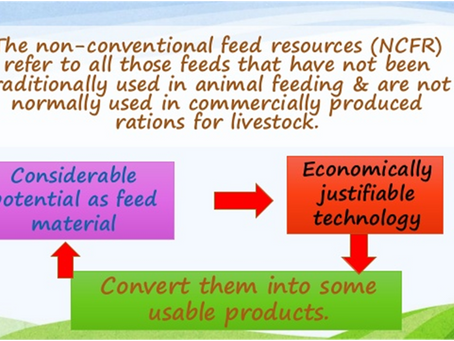 Non Conventional Feed Resources for Poultry Industry:  Needs, Benefits, Constraints and Its Prospect