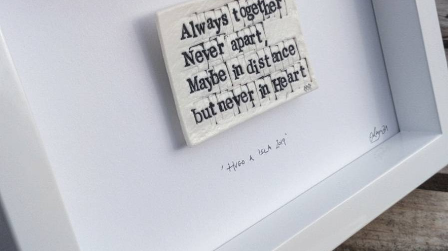 'Always together, never apart...'