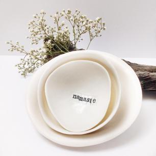 'NAMASTE' Gratitude Bowl