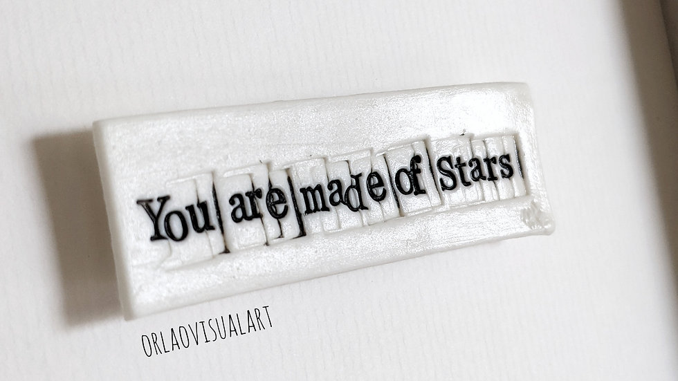 'You are made of stars'