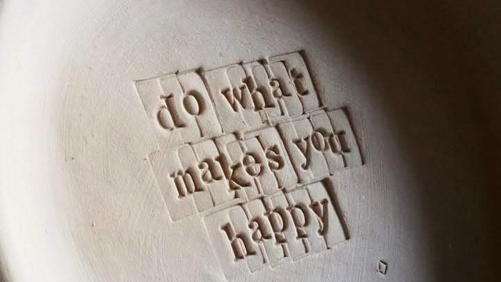"'Gratitude Bowl' ""do what makes you happy"""