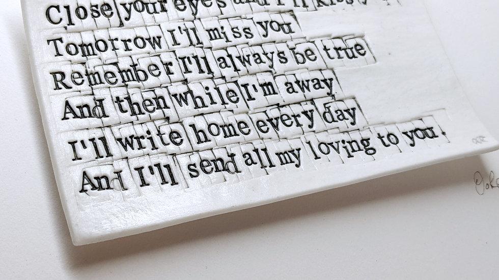 'All my Loving'