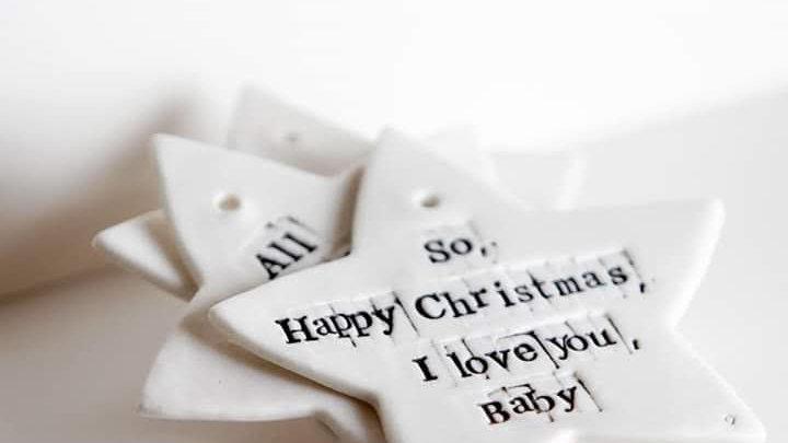 Christmas 'Stars in Porcelain'
