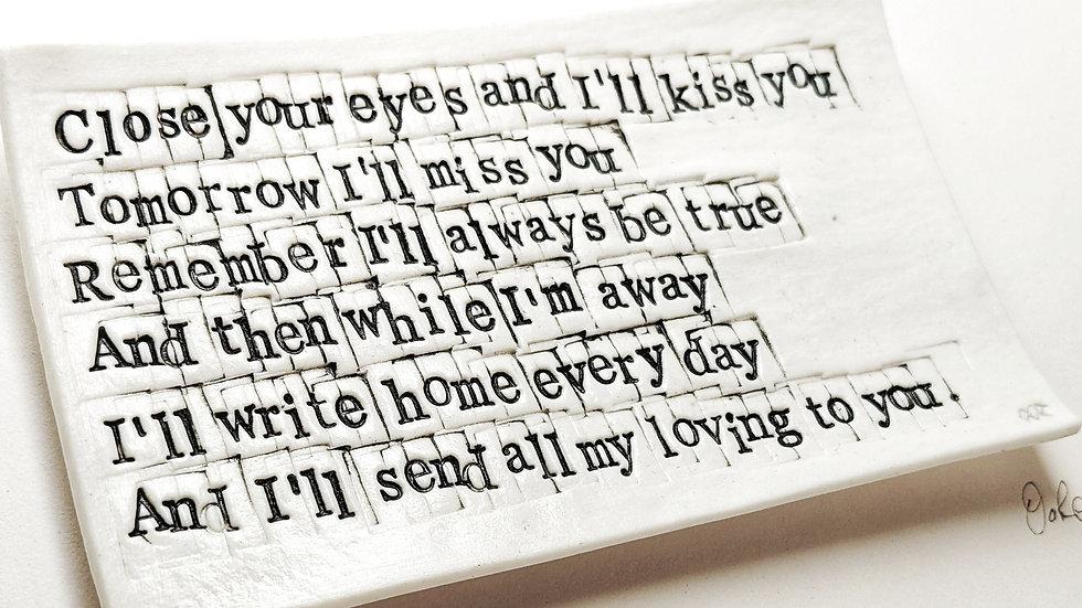Beatles - 'all my loving'