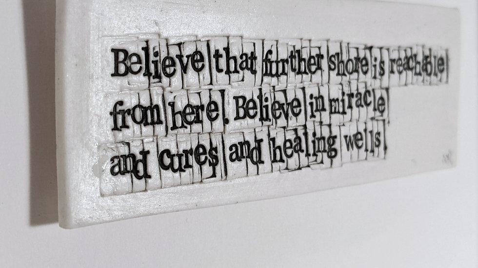 Believe - Seamus Heaney