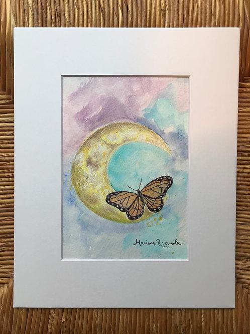 """Moonlit Butterfly - 5""""x7"""""""