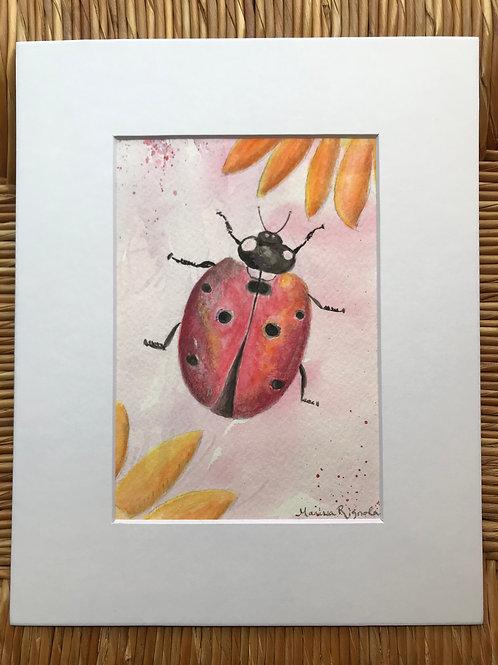 """Lucky Ladybug - 5""""x7"""""""