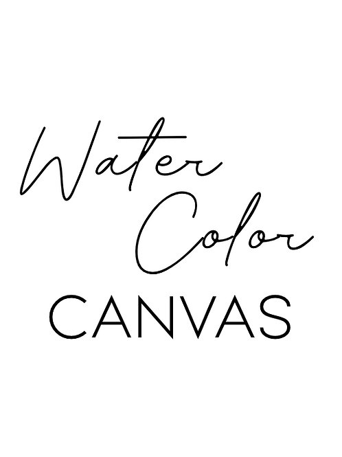 Spirit Animal Experience: Water Color, Canvas