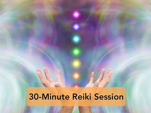 30-Minute Reiki Session