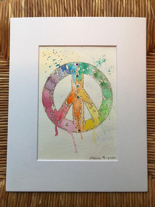 """Peace - 5""""x7"""""""