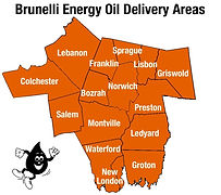 Brunelli Energy Oil Delivery Areas