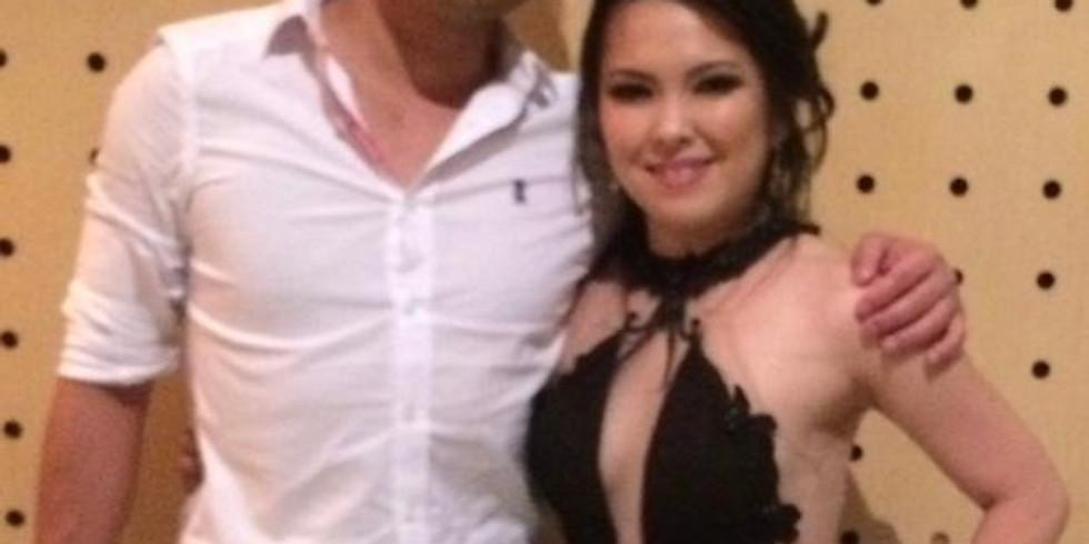Bruna Sueko e Michael Tatsunori