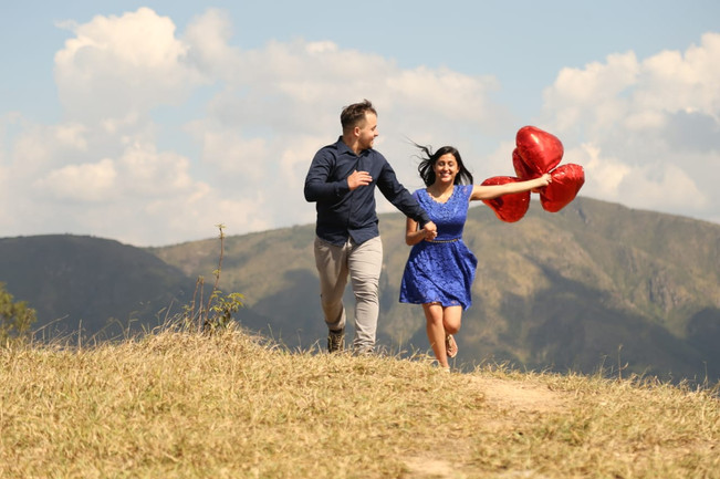 Caroline e Rodrigo