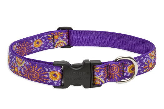 Lupine Sunny Days Adjustable Collar 1""
