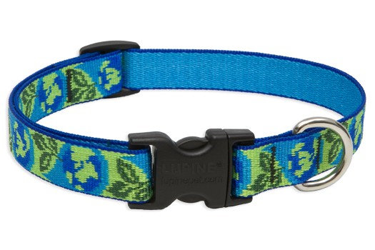 Lupine Earth Day Adjustable Collar