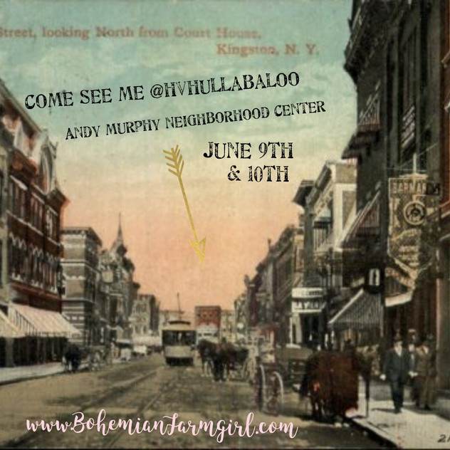 Hudson Valley Hullabaloo this weekend!