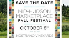 Mid-hudson Marketplace at Nostrano Vineyards is happening this Sunday in Milton, New York