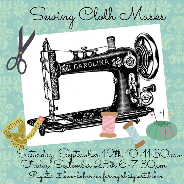 Sewing Classes!