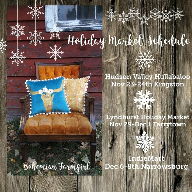 Holiday Market Schedule