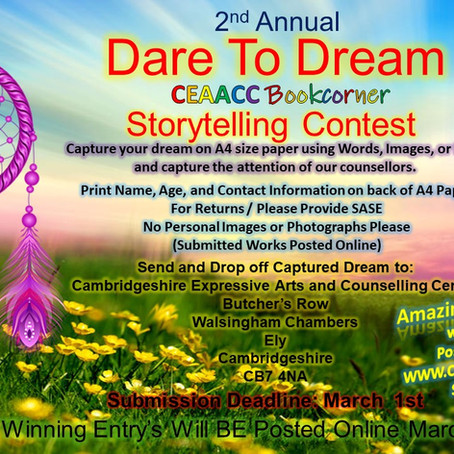 Dare to Dream Storytelling Contest 2021⭐️✨