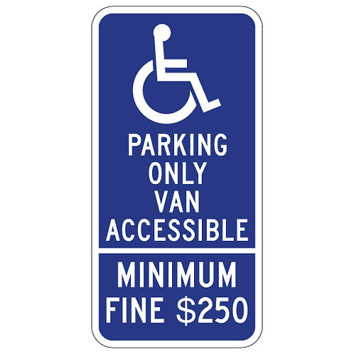 ADA Parking - Van Accessible