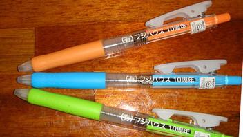 市販ボールペンにパット印刷