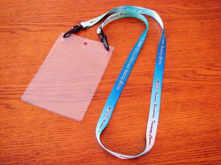 ネックストラップ(カードケース付き)