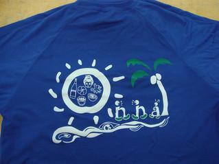 Tシャツ2色印刷