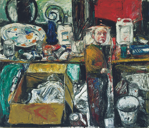 Caught in a Mirror, 1997 coll. Birmingham Museum and Art Gallery