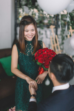 Dixon + Vickie  by Knot For Two